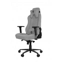Žaidimų Kėdė Arozzi Vernazza Soft Fabric, Light Grey (šviesiai pilka, medžiaginė)