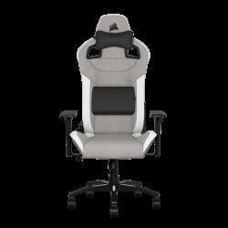 Pristatymas 1-3 d.d.! Žaidimų Kėdė Corsair T3 Rush 2019 Fabric Gray/White (Medžiaginė Pilkai Balta)