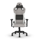 Žaidimų Kėdė Corsair T3 Rush Fabric Gray/White (Medžiaginė Pilkai Balta)