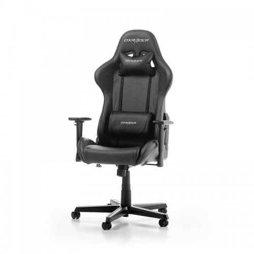 PRISTATYMAS 1-2 D.D.! Žaidimų Kėdė DXRacer Formula Series F08-N Black (Juoda)
