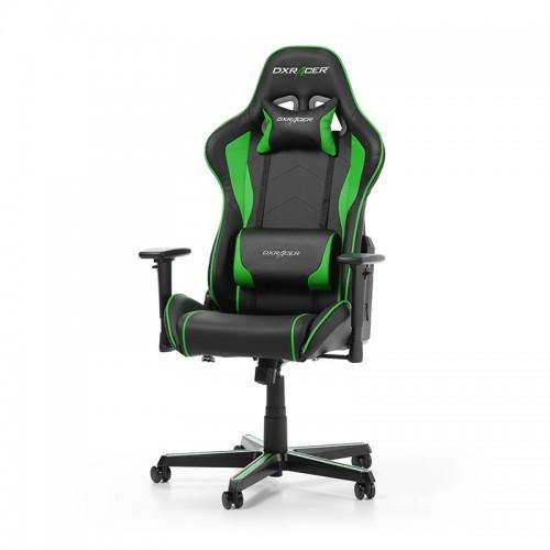 PRISTATYMAS 1-2 D.D.! Žaidimų Kėdė DXRacer Formula Series F08-NE Green (Žalia)