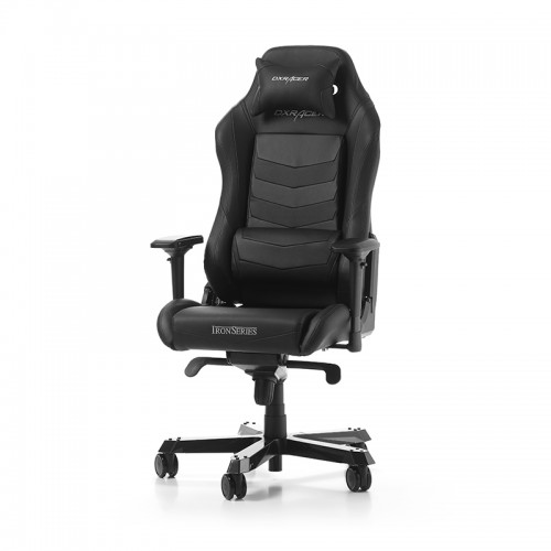 PRISTATYMAS 1-2 D.D.! Žaidimų Kėdė DXRacer Iron Series I166-N Black (Juoda)