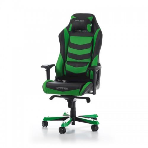 Žaidimų Kėdė DXRacer Iron Series I166-NE Green (Žalia)