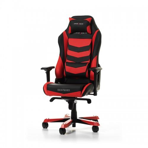 PRISTATYMAS 1-2 D.D.! Žaidimų Kėdė DXRacer Iron Series I166-NR Red (Raudona)
