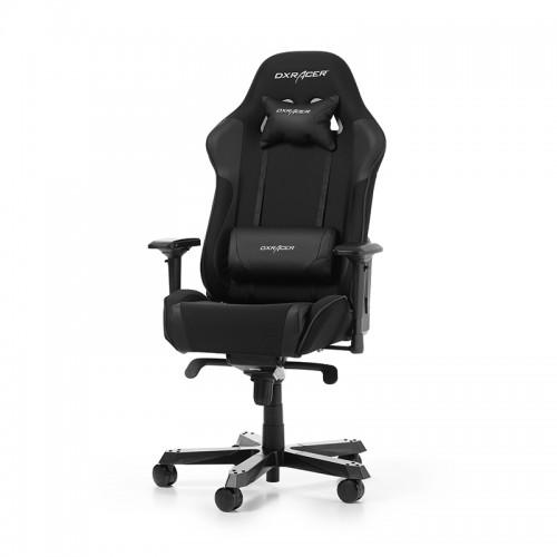 TURIME SANDĖLYJE! Žaidimų Kėdė DXRacer King Series K11-N Black (Juoda Medžiaginė)