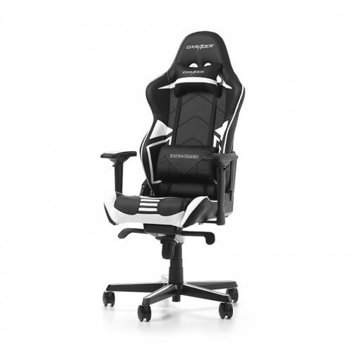 IŠPARDAVIMAS! PRISTATYMAS 1-2 D.D.! Žaidimų Kėdė DXRacer Racing Pro Series R131-NW White (Balta)