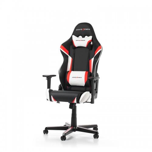 Žaidimų Kėdė DXRacer Racing Series R288-NRW Red White (Raudona Balta)