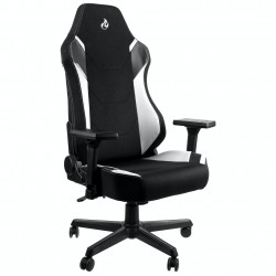 PRISTATYMAS 1-2 D.D.! Žaidimų Kėdė Nitro Concepts X1000 Stealth Radiant White (Balta Medžiaginė)