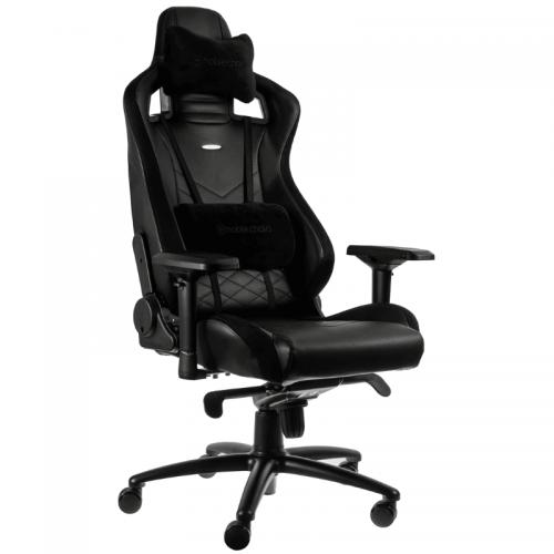 Žaidimų Kėdė noblechairs EPIC Black PU Leather (Juoda PU Oda)