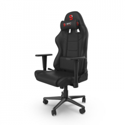 Žaidimų Kėdė Silentium PC Gear SR300F V2 Black Fabric (Juoda Medžiaginė)